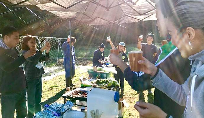 【第4回】マイファームビールアカデミー~麦踏みで汗かいてビール&BBQで乾杯~