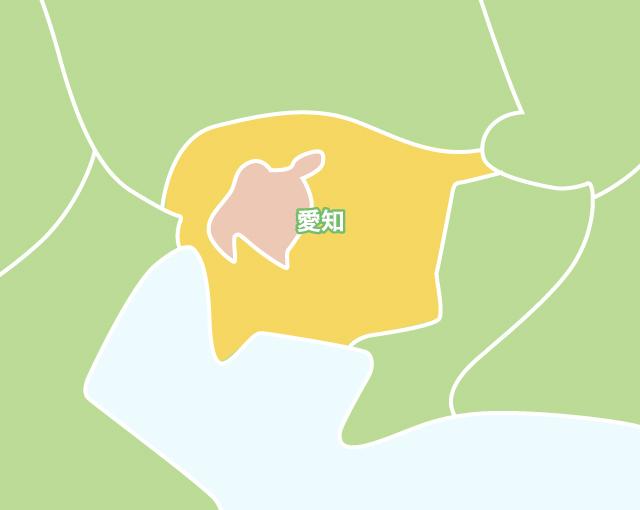 東海エリア地図